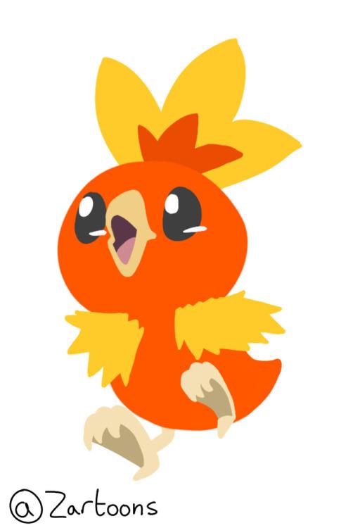 torchic pokemon pocket-monsters favouritepokemon gottacatchemall art cool heythere youreallylikereadingtags huh? wellidkwhatelsetoputheresoooo lookslikeyoureouttaluck