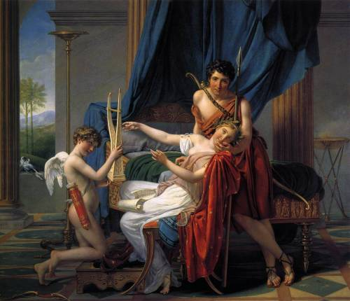 DAVID, Jacques-LouisSappho and Phaon1809Oil on canvas, 225 x 262 cmThe Hermitage, St. Petersburg