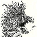 Dragon Harris tumblr blog logo