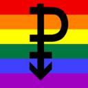 Erotic Art Rainbow tumblr blog logo