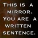 Art Mirrors Art