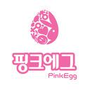 핑크에그 tumblr blog logo
