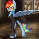 Rainbow's Lust tumblr blog logo