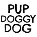 Pup Doggy Dog tumblr blog logo