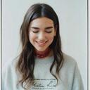 sad girl tumblr blog logo