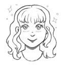 Star-Shaped Sprinkles on Cupcakes tumblr blog logo