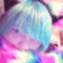 The pastel Rainbow Kitten tumblr blog logo