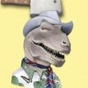 blog logo of choppedcowboydinosaur