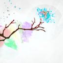 halfarainbow tumblr blog logo