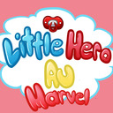 The Little Hero AU tumblr blog logo
