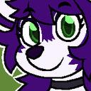 blog logo of purple paw pads