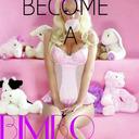 Bimbos welcome! tumblr blog logo