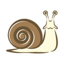 blog logo of snails