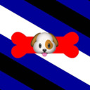 French Pup tumblr blog logo