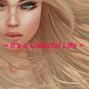 ~ It's a Colorful Life ~ tumblr blog logo