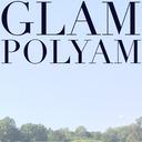 blog logo of glamorous polyamorous