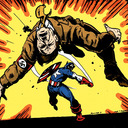 blog logo of Nazi Punching Character of the Day