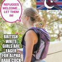 blog logo of I'm a white British woman for Muslims