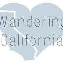 Wandering California tumblr blog logo