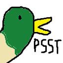 I AM A DUCK tumblr blog logo