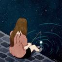 Love me, Lights out. tumblr blog logo