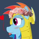 ~A brave mare on duty~ tumblr blog logo