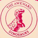 The Awkward Dinosaurs tumblr blog logo