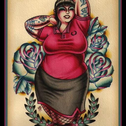 Submit your tattooed BBW self.