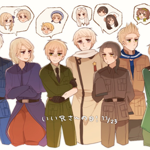 Hetalia Scenarios — Allies and Axis finding self harm scars
