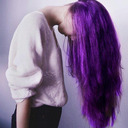 blog logo of colored hair