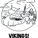 I Draw Vikings tumblr blog logo
