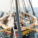 sailing o'er life's solemn main tumblr blog logo