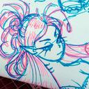 blog logo of Odette Doodlette-Art
