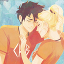 blog logo of Voltron and Percy Jackson trash.