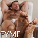 blog logo of fu¢k yeah male feet