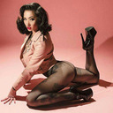 blog logo of pin ups, rockabilly, burlesque and more