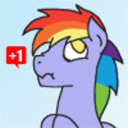 Ask Rainbow's Dad tumblr blog logo
