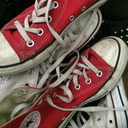 Little Red Chucks tumblr blog logo