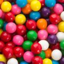 Chewing Gum Under A Rainbow tumblr blog logo