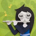 [S] Jade: Play a silly flute refrain. tumblr blog logo