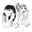 Just Another Girl  tumblr blog logo