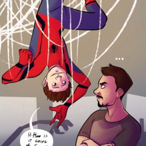Iron Dad Fics — Tony is Peter's Guardian fics