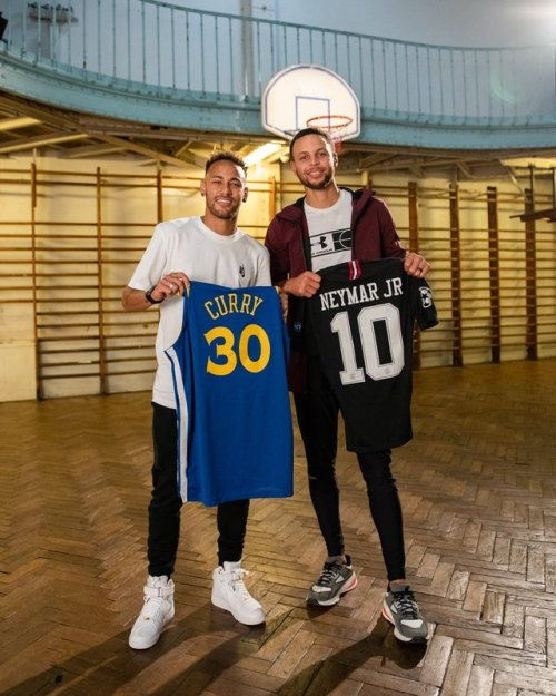neymar jr stephen curry neymar curry nba psg paris saint germain golden state warriors warriors