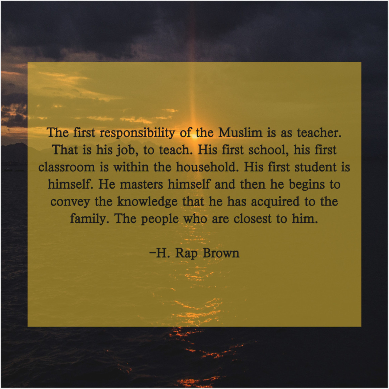H. Rap Brown – The first responsibility of the… https://ift.tt/2RaH4QO ✪ Get More FANTASTIC Quotes—the Image Will Take You There! 😉 #lifequotes#inspiration#quoteoftheday#quotestoliveby#motivation#positivethinking#quotes