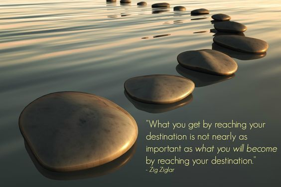 What you get by reaching your destination is not nearly as important as what you will become by reaching your destination - Quotes