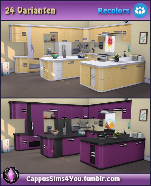 Cappus Sims 4 You — Set Harmonie Küche