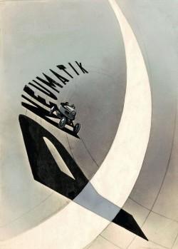 László Moholy-Nagy, Pneumatik, Poster, 1924______Discover more art on iheartmyartFind us: Facebook | Twitter | Instagram | Flickr | Mail…