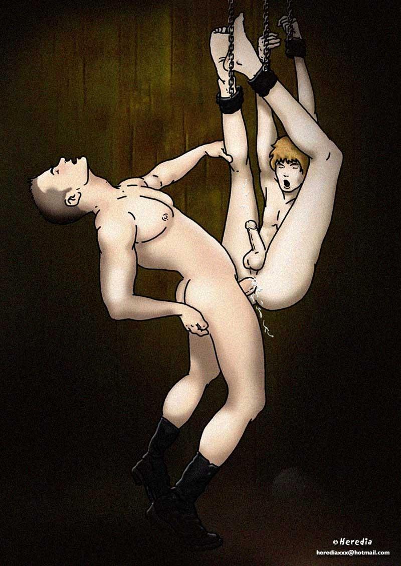 Double penetration sex device