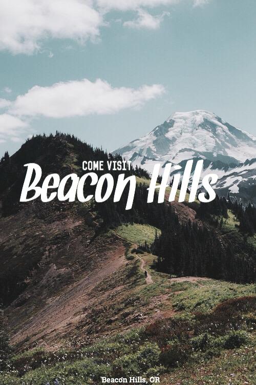 Come visit Beacon Hills! #beacon hills#oregon#travel#come visit