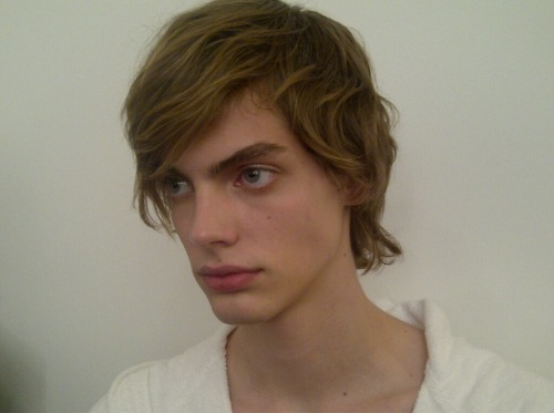 Janis Ancens Justus Eisfeld backstage boys 2012 fw12 aw12 face male model uploads
